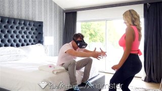 PUREMATURE Step Son Blows Load All Over Step Mom