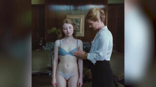 Emily Browning Gets Examined In Her Bra and Panties Scene - Sleeping Beauty