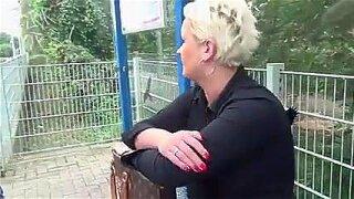 PERVERT GRANNY LOVER 2 german short hair mature gets it all