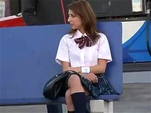 Guy Undresses Chick In Public And Puts His Cock Up Her Skirt Porn