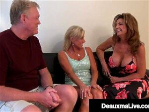 Wild Wicked Wife Deauxma & Horny Husband Pussy Fuck Milf Payton Hall! Porn