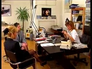 Hot Mature Lesbians Fist Hairy Pussies At The Office Porn