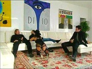 Classy Italian Woman Gangbanged By 3 Guys Porn
