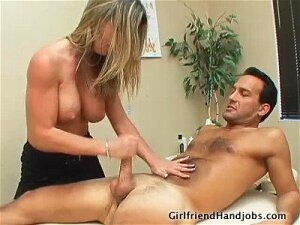 Excellent Masseuse Knows How To Satisfy With A Handjob Porn