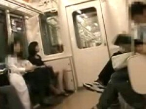 Ride On A Subway2(Touch Your Clit!) Porn