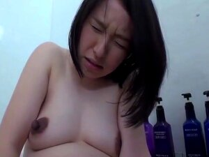 Pregnant Japanese Woman With Big Nipples Masturbates Porn