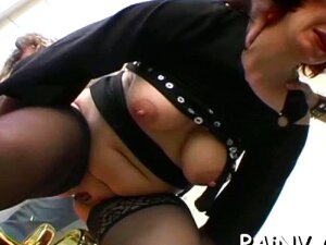 One Girl Gets Fucked While Another Gets Extreme Humiliation Porn