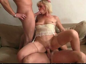 Lonely Granny Needs Two Fresh Cocks Porn