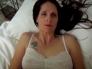 Mom & Son Share A Bed - Mother Wakes Up To Son Masturbating - Pov, Milf, Family Sex, Mother - Christina Sapphire Porn