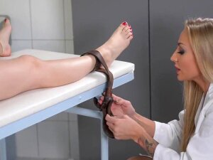 In This Hardcore XXX Video Of Extreme Sex And Lesbian Bondage, Misha Cross Goes To DDF Genital Hospital For What She Thinks Is A Routine Checkup, But It Turns Out To Be Anything But! Porn