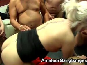 Aged Mates Take Up With The Tongue And Fuck 2 Younger Blondes Snatches Porn