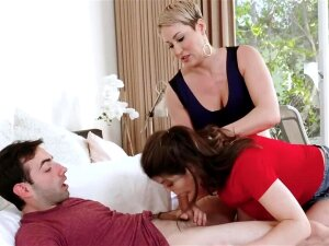 Teens And MILFs Take Cocks In Mouth And Suck To The Bitter Porn