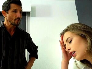 Angry Stepdad Brutally Fucked His Hot Teen Stepdaughter Porn