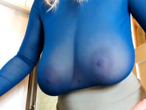 XTREME SAGGY UDDERS MAID Casey Deluxe Porn