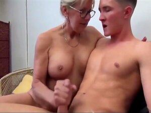 Mom Entertains Son Whilst Watching Porn Porn