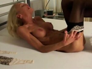 Anorexic Blonde Feather Tickling & Body Show HD Porn