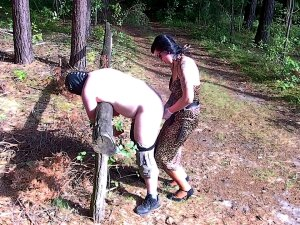 Fuck For(ced) Forest Porn