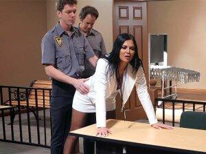 Cop Markus Dupree Found The Butt Toy In Jasmine Jae's Ass Porn