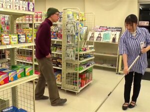 Stop Time In Convenience Store Porn