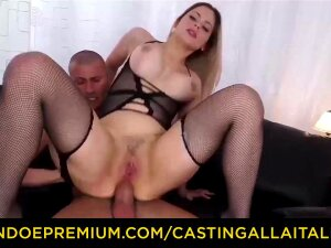 Italian Ash-blonde In Ebony Tights Is Getting Analed In Front Of A Covert Camera And Luving It Porn