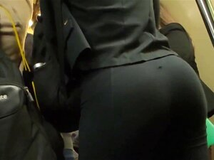 Nice Ass In The Train Porn