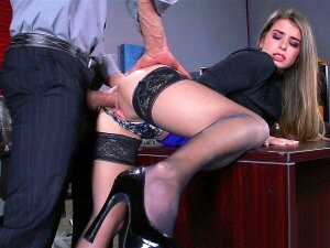 Young Secretary Bunny Freedom Gets Pussy Fucked By Her Boss Porn
