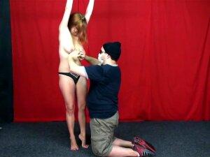 TickleChallenge - Ashley - Jumping Jack Tickle Challenge Porn