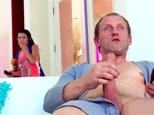 Alaina Kristar Comes Home From School To Find Her Stepdad Masturbating Porn