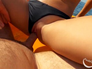 This Babe Said Me To Take Down My Swimming Shorts And Gave Me A Tugjob. After A Whilst That Babe Put My Rod Inside Her And Rode Me Untill I Came All Over Her Ideal Titties. Then That Babe Drilled Me Some Greater Amount. Porn