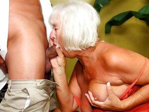 Granny Sucks Cock Porn