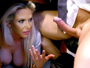 Rachel Roxxx Caught By Skyla Novea Giving An Under-desk Blowjob Porn