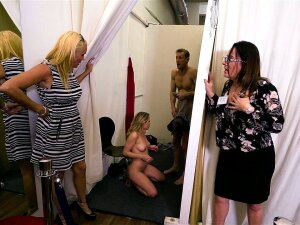 Aubrey Sinclair Was Caught With Cumshot On Chest In A Dressing Room Porn