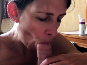 POV Hotel Blowjob And Swallow While On Vacation Porn