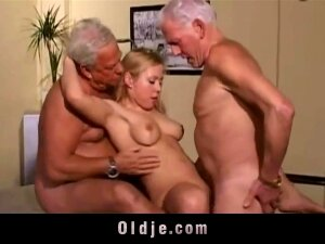 Warm Aged Youthful Three-way Screw Porn