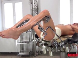 WICKED RUBBER DOCTOR AND PATIENT IN RUBBER CLINIC. Rubber Patient Lena Lies On The Rubber Clinic's Op Table. This Babe Rubs Her Snatch And Satisfies Herself. Then Rubber Doctor Samantha Joins Lena To Treat Her. Porn