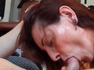 Pierced Granny Gets An Anal Workout In The Gym Porn