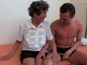 Granny Gets Her Hairy Asshole Fucked  Porn