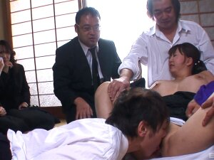 Hardcore Gangbang Party For Slutty Japanese Wife Kano Waka Porn