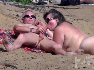 'Sex On A Nude Beach' Porn