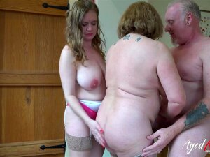 Two Mature Ladies And One Huge Cock In Hardcore Sexual Video Porn