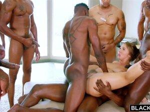 Dark-Hued Peckers In Steamy Ash-Blonde Porn