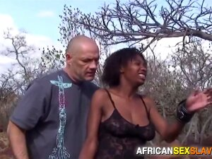 Black Slut With Beautiful Long Legs Tied Up Outdoors In Public, Whipped Hard, Face Fucked And Hardcore Sex Until Cumshot. For Full Scene, Visit AFRICANSEXSLAVES Porn