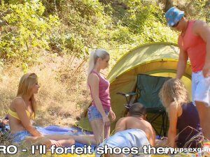 Camping With Friends Quickly Tunrs Into A Vicious Orgy Porn