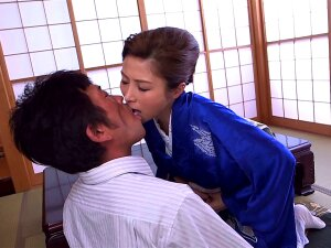 Gorgeous Woman Akari Asahina Opens Her Legs For A Man's Boner Porn