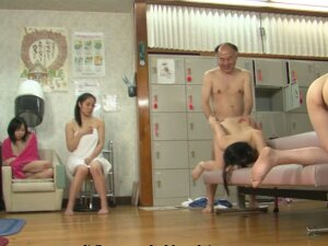 Asian Bitches Are Getting Fucked In A Hot Spa Porn