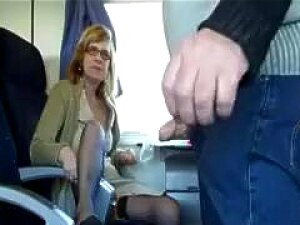 Mature Wife Sucks In Train Porn
