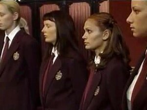 Dirty Schoolgirls In Uniform Involved In A Sex Scandal. Porn