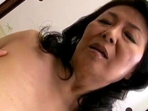 Old And Horny Japanese Mature Bitch Finger Fucked, Sweet Asian Honey Getting Her Aged Pussy Banged And Fingered By A Young Cock. She Moans And Groans While At It. Porn