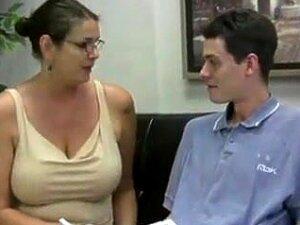 Busty Teacher Jerks Off Student Porn