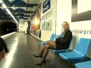 Blonde Has Sex On Subway And Street Public Oral Anal Porn